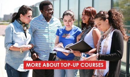 More about top-up courses