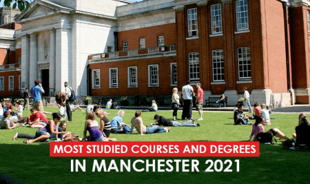 Most Studied Courses and Degrees in Manchester 2021