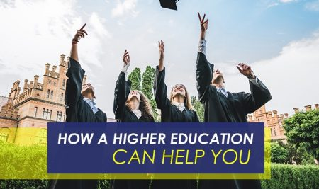 How a higher education can help you