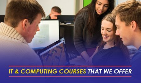 IT & Computing courses that we offer