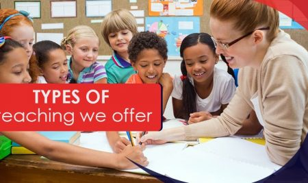 Types of teaching we offer